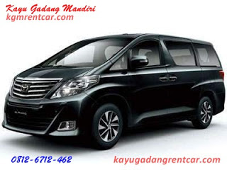 Rental Alphard di Padang