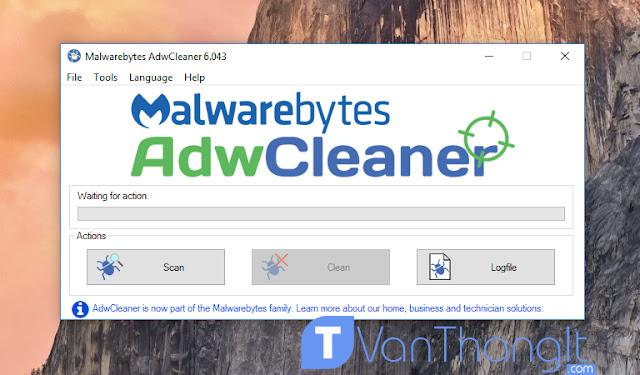 Diệt tận gốc quảng cáo khó chịu nhất bằng AdwCleaner - VanThangIt.Com
