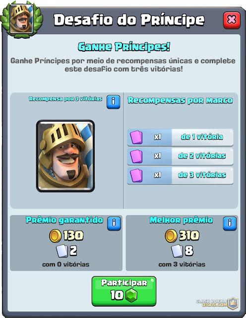 Desafio do Príncipe começou! - 1