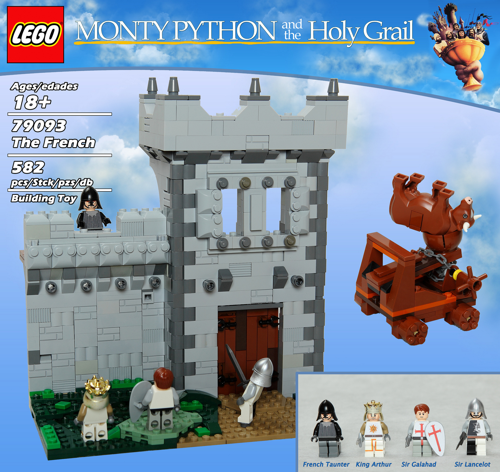 Monty Python The Royal Philharmonic Orchestra Goes To The Bathroom: The Brickverse: It's... Lego Monty Python
