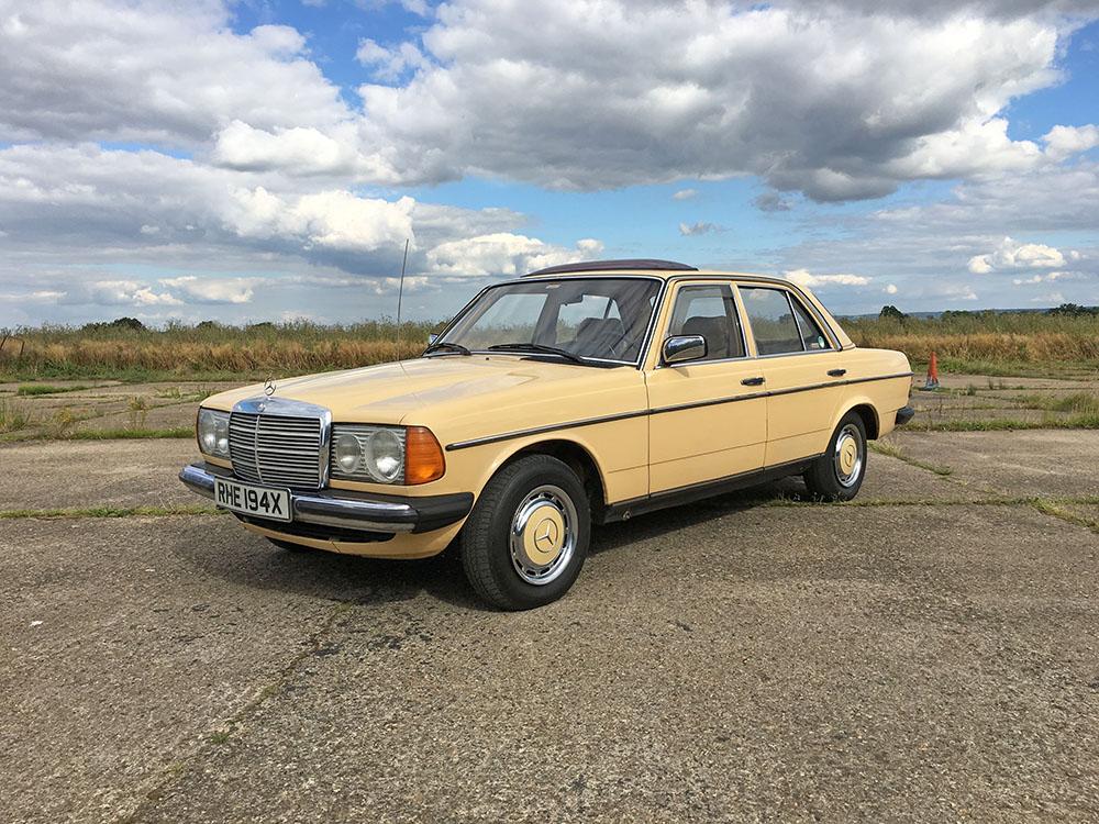 classics for sale: 1982 mercedes-benz 240d - edward hall classics