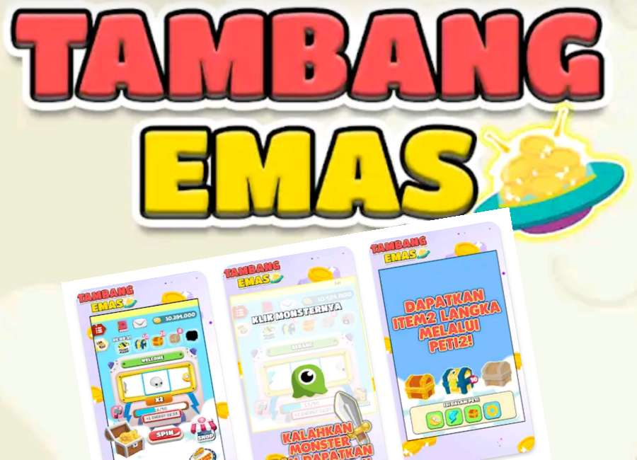 Tambang Emas Mod Apk: Game Android Penghasil Uang Asli ...