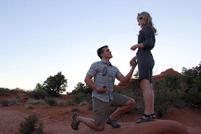 Josie Bates and Kelton Balka proposal