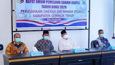 Kecewa! Bupati Lombok Timur Akan Evaluasi Direksi PDAM