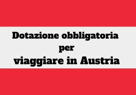 dotazione auto Austria