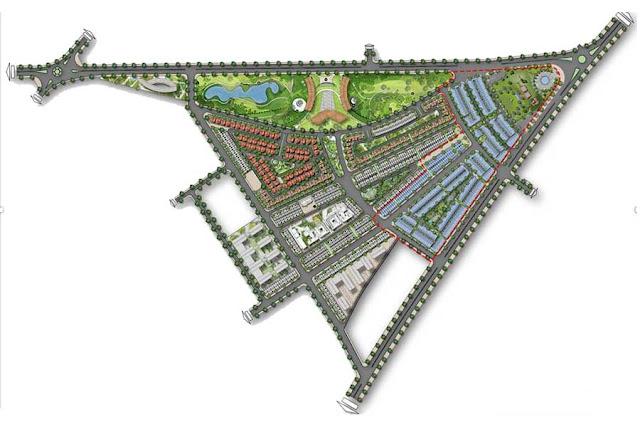 Bản quy hoạch Premia Eco tại km7 Buôn Ma Thuột