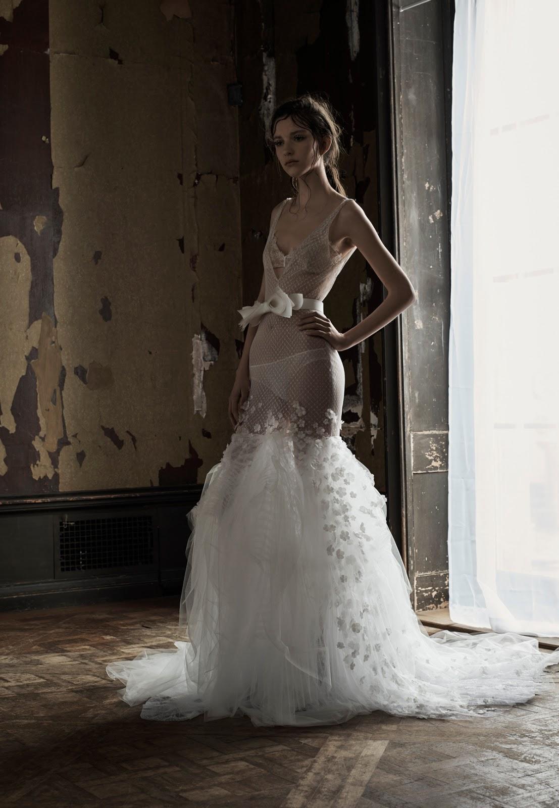 Vera Wang Spring 2016 Bridal Collection Hot