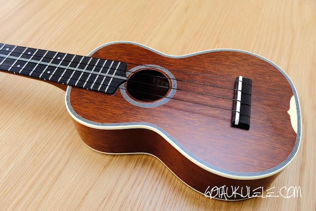 Kiwaya KTS-7 Soprano ukulele body