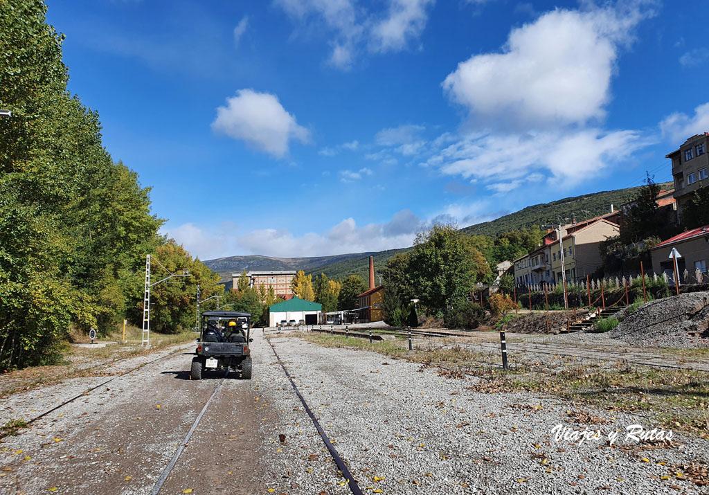 Parque Ferroviario de Barruelo de Santullán.