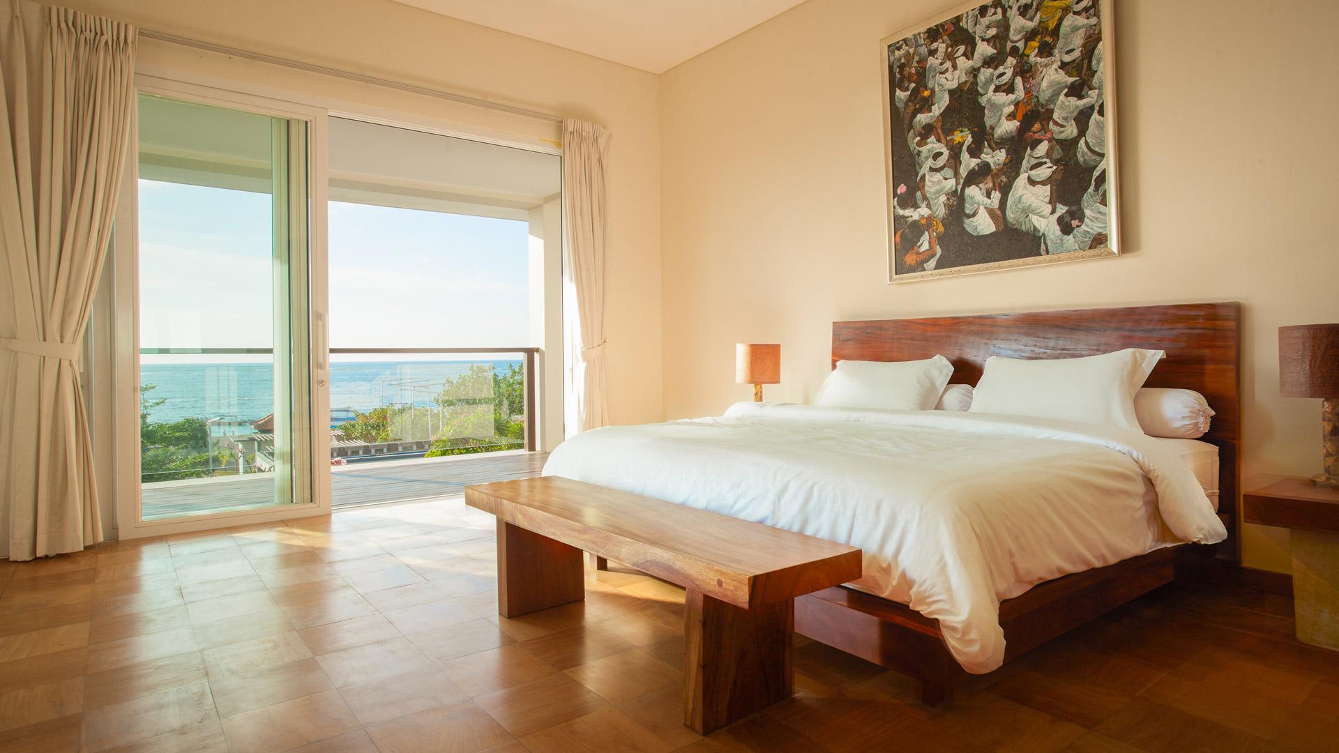 Villa Sunset - Bedroom Beach View