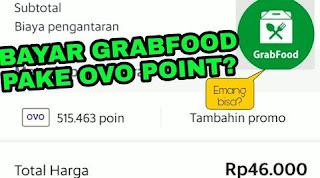 Cara Bayar Grabfood Pakai OVO