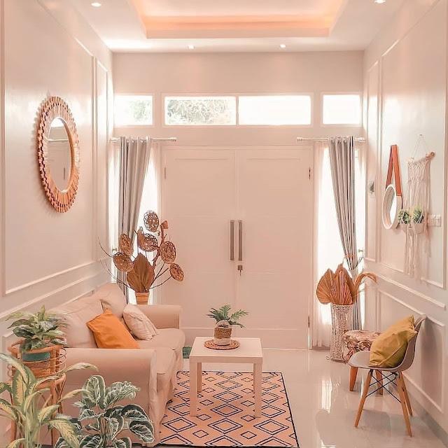 Dekorasi Ruang Tamu Sederhana Tapi Cantik