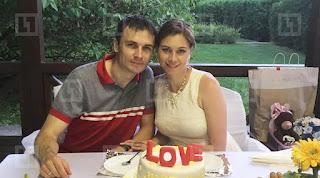 Vera Zvonareva And Her Husband Aleksandr