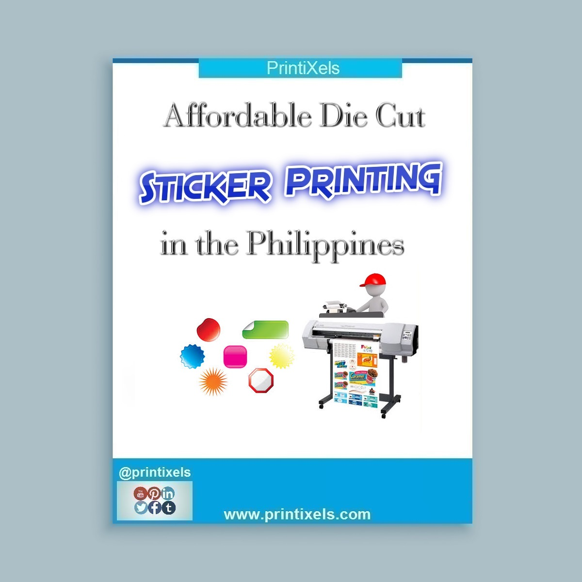 Affordable Die Cut Sticker Printing in the Philippines