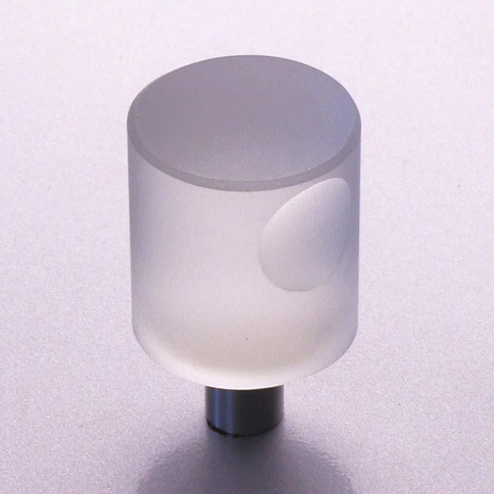 m belkn pfe aus glas und kristall designer m belknopf aus glas matt und edelstahl 20mm. Black Bedroom Furniture Sets. Home Design Ideas