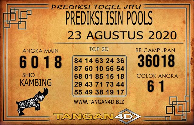 PREDIKSI TOGEL ISIN TANGAN4D 23 AGUSTUS 2020