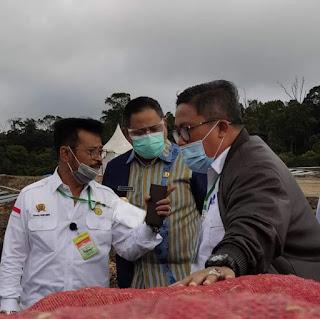 Bupati Usulkan Kabupaten Dairi jadi Bagian dari Program Food Estate di Sumut.