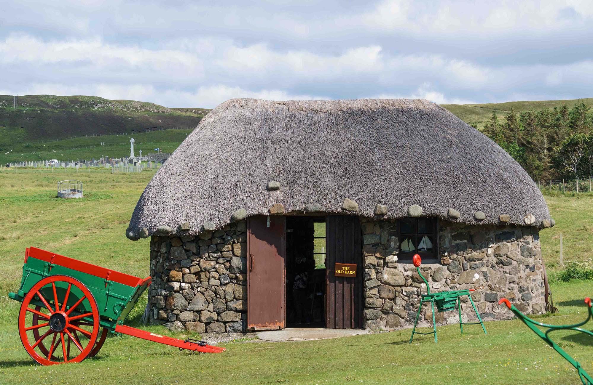 Музей островной жизни Скай на острове Скай в Шотландии