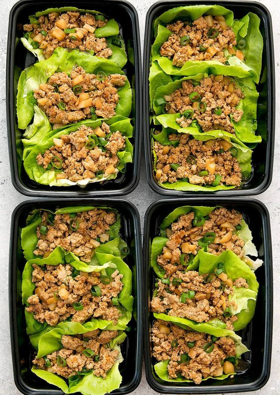 CHICKEN LETTUCE WRAPS MEAL PREP #recipes #healthydinner #dinnerrecipes #healthydinnerrecipes #food #foodporn #healthy #yummy #instafood #foodie #delicious #dinner #breakfast #dessert #lunch #vegan #cake #eatclean #homemade #diet #healthyfood #cleaneating #foodstagram