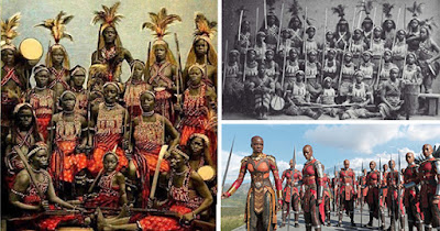 Dahomey Warriors who inspired the Black Panther film