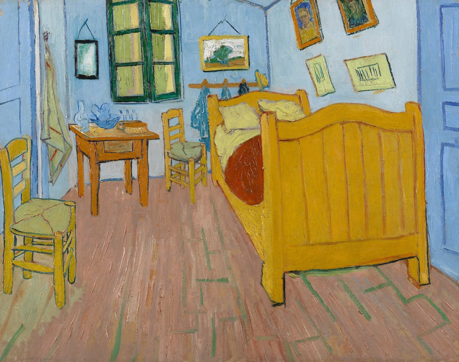 Cliquez Sur Lu0027image Pour Lu0027agrandir. KART Du0027identité. Œuvre : La Chambre De Van  Gogh à Arles