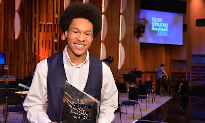Sergio Mims: The Guardian: Cellist Sheku Kanneh-Mason wins 2016 BBC Young Musician award [performed Shostakovich's Cello Concerto No.1 to scoop prize]