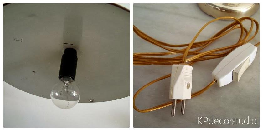 Lámparas antiguas restauradas
