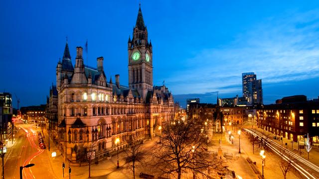 Aluguel de carros em Manchester