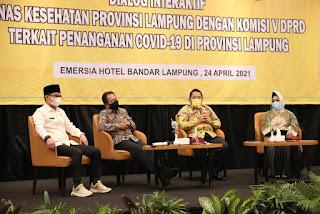 Dialog Interaktif FSTV, Gubernur Arinal Ajak Pemangku Kepentingan Perkuat Kembali Komitmen Penanganan Covid-19