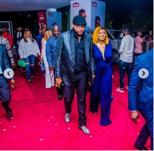 E-money And Wife, Juliet, Make Magnificient Entry To Public Event (Photos)
