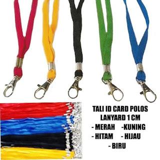 Jual Tali ID Card Lanyard Polos Murah di Jakarta