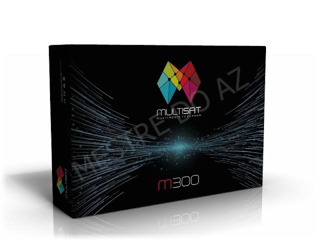 MULTISAT M300 NOVA ATUALIZAÇÃO V266 - 10/08/2020