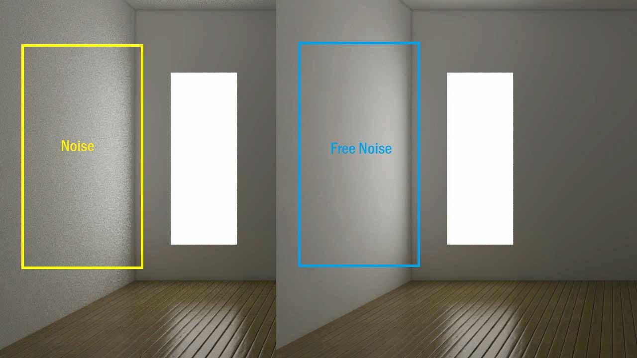 Cara Menghilangkan Noise di Vray Sketchup
