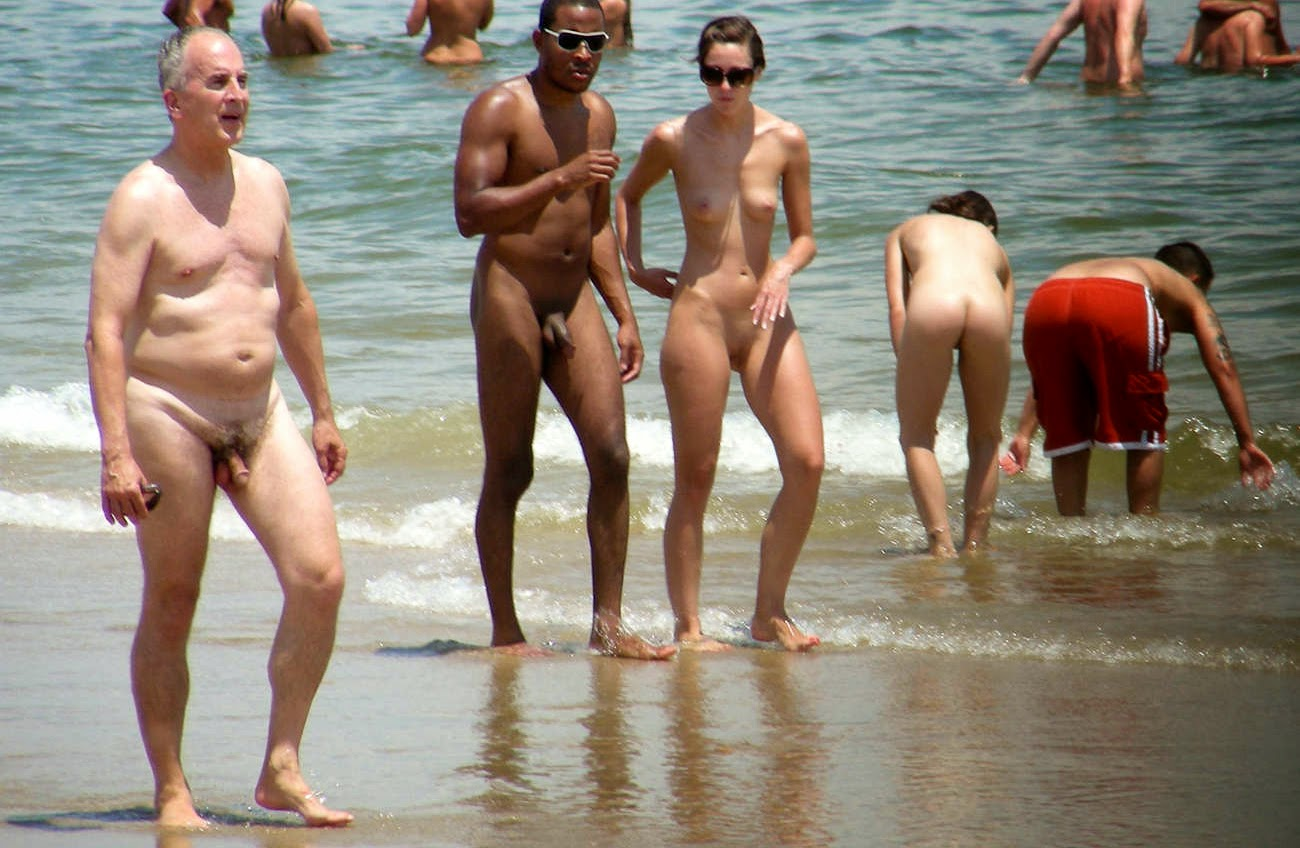 Nudism - Photo - Hq  Nude Family - Beach Sandy Hook -9495