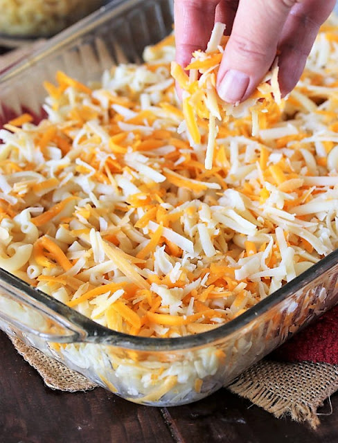 How to Make 2-Cheese Baked Macaroni and Cheese Image