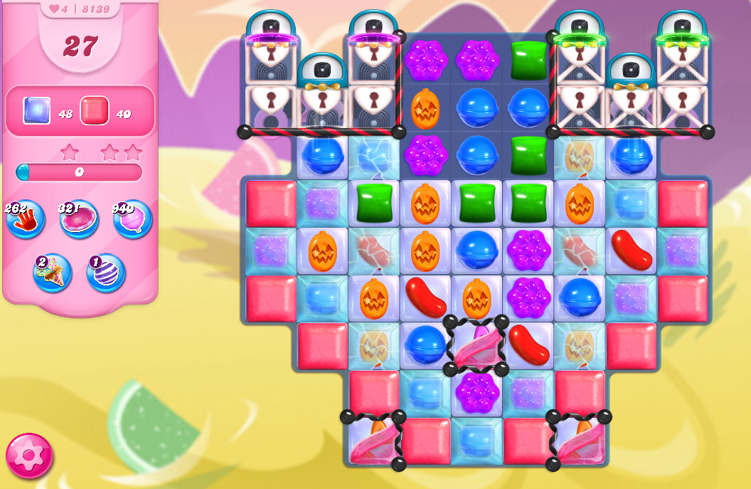 Candy Crush Saga level 8139
