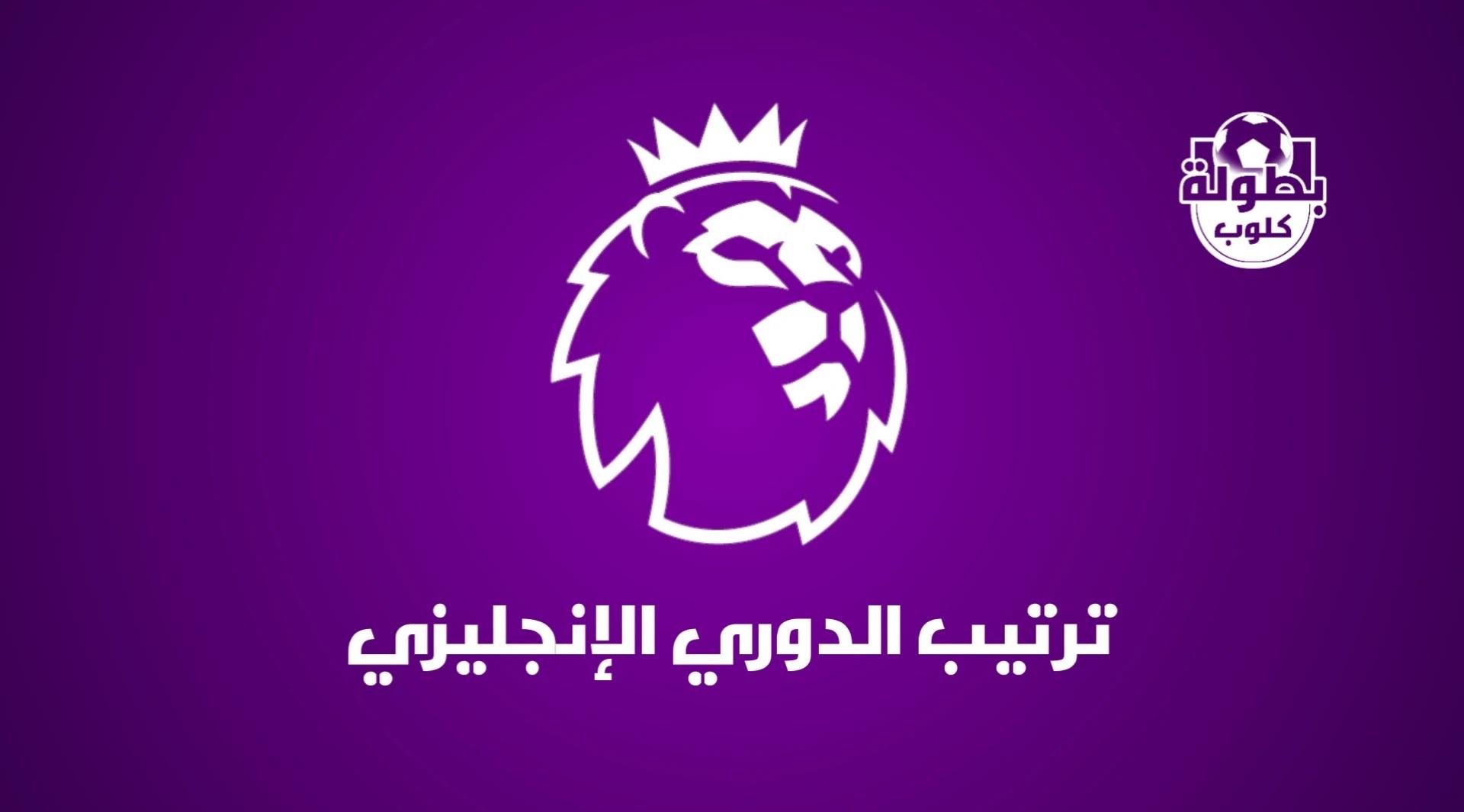 ترتيب الدوري الإنجليزي الممتاز 2020-2021