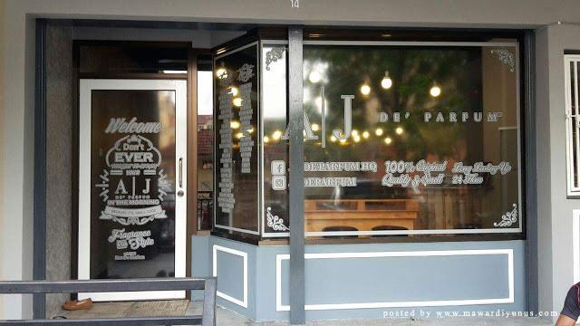 AJ De' Parfum Bar & Cafe