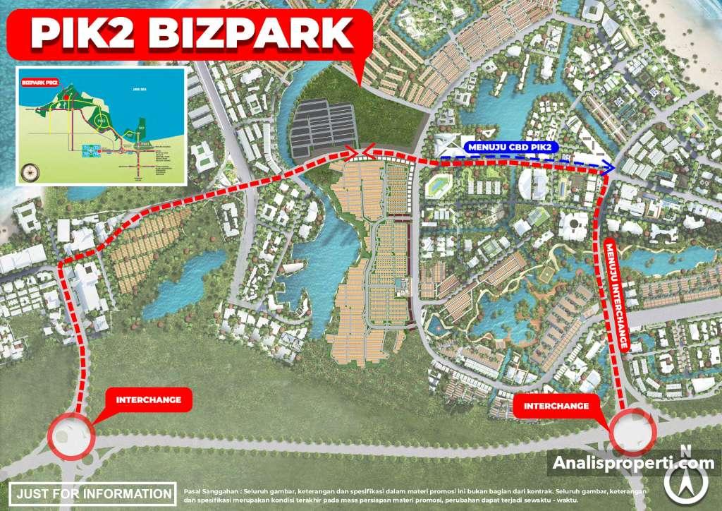 Lokasi Bizpark PIK 2 Jakarta