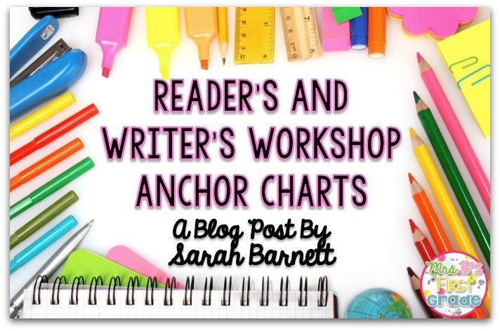 Reader\u0027s and Writer\u0027s Workshop Anchor Chart Freebies - Mrs B\u0027s - anchor charts