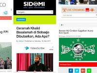 Video~Dituduh Wahabi Takfiri, Ust Khalid: Kapan Saya Pernah Kafirkan Orang? Apakah ada di Youtube?