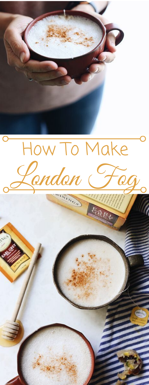 HOW TO MAKE A LONDON FOG DRINK #drink #cocktail #sangria #recipes #easy