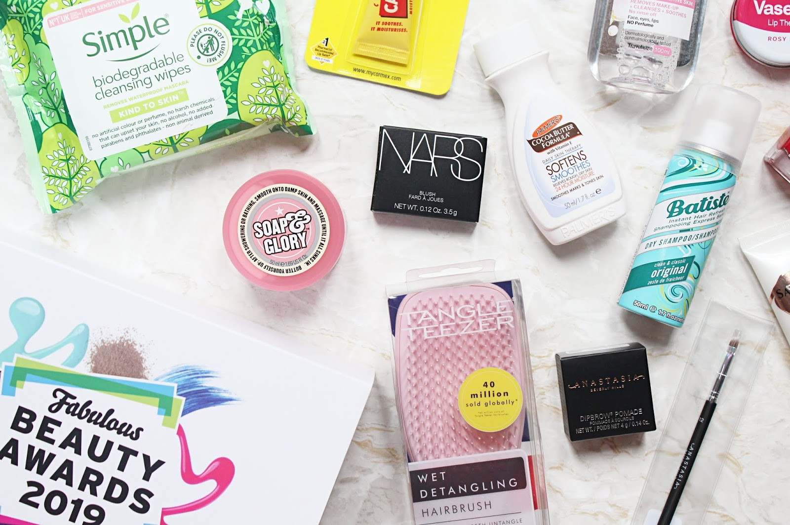 Latest in Beauty Fabulous Beauty Awards 2019 Box
