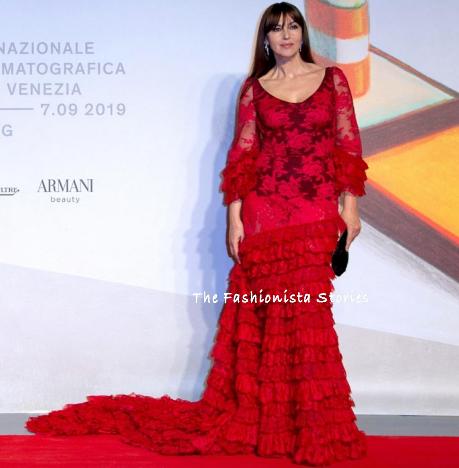 Monica Bellucci In Dolce Gabbana At The Irreversible