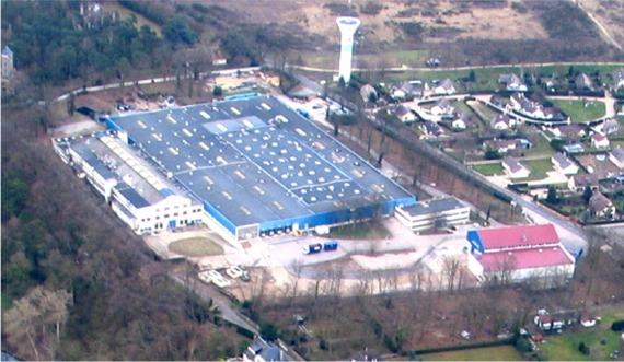 Bosmy Pîtres - L'usine d'Andé