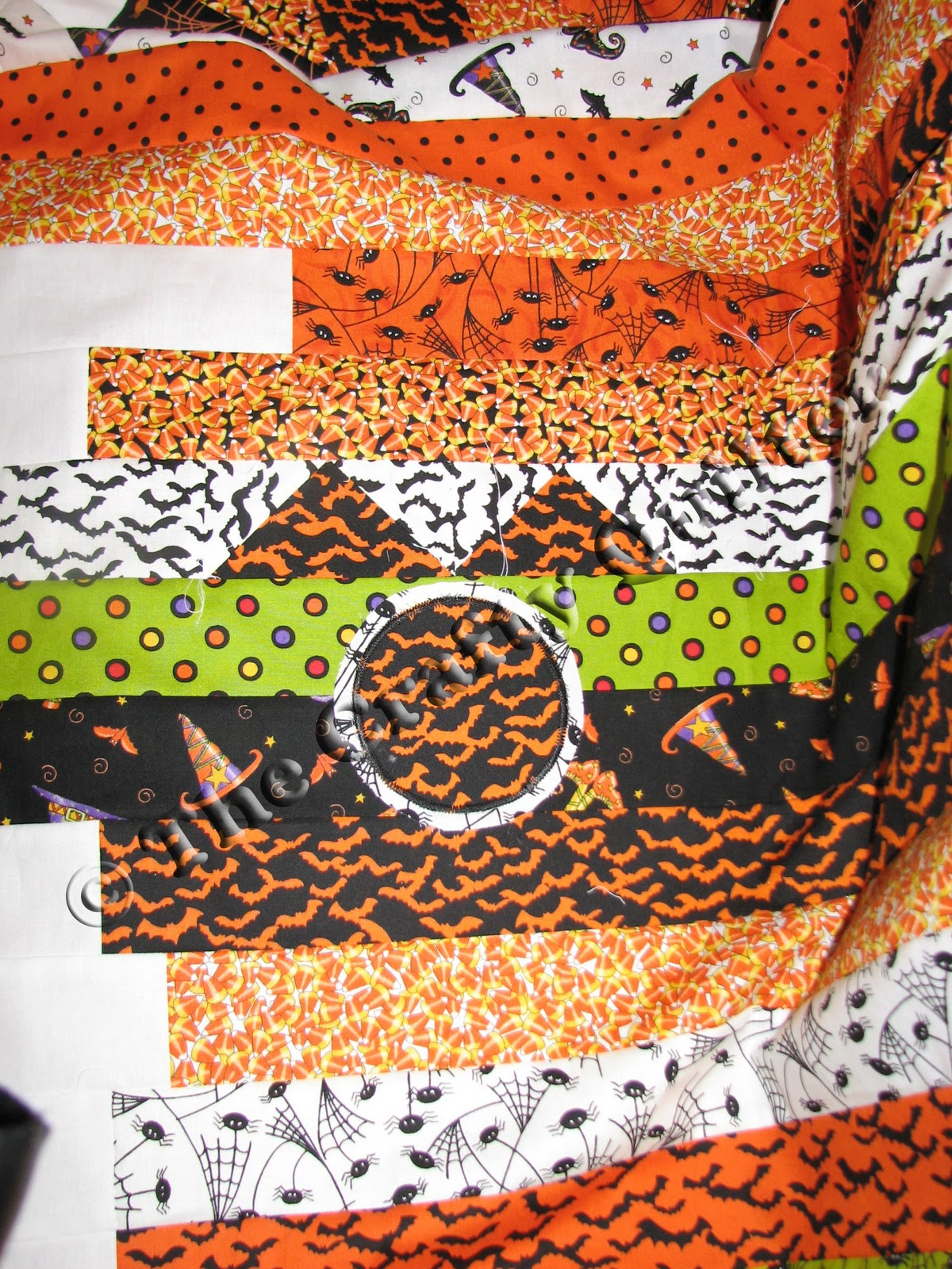 The Crafty Quilter S Closet Spooky Halloween Quilt Pattern