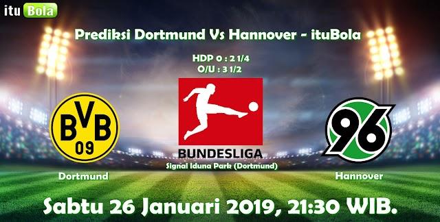 Prediksi Dortmund Vs Hannover - ituBola