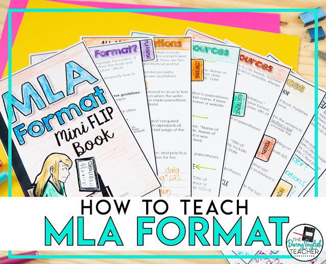 How to Teach MLA Format in the Secondary ELA Classroom