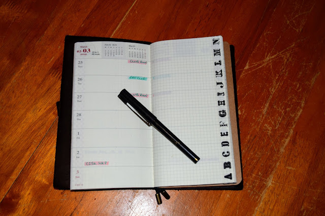 Planning in 2019 - Trekker from Jofelo - travelers notebook