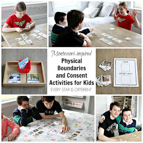 Montessori-inspired Physical Boundaries and Consent Activities for Kids